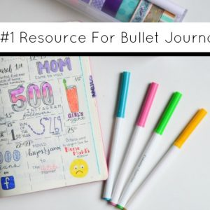 The Number 1 Resource to Take Your Bullet Journal to the Next Level