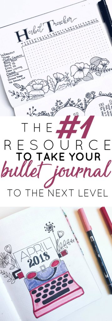 Take Your Bullet Journal to the Next Level with Just One Resource