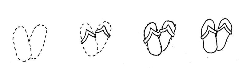 How to Doodle Flip-Flops