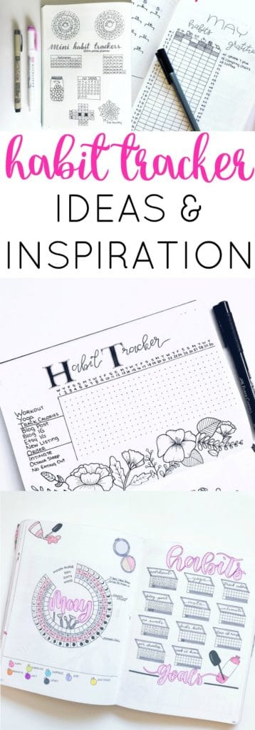 Habit Tracker Ideas and Inspiration.