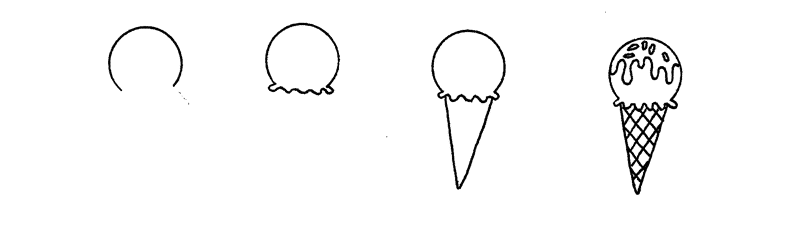 How to Doodle Ice Cream