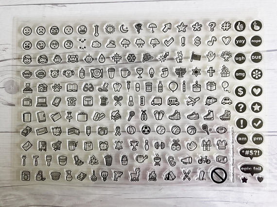 Planner Icon Stamps