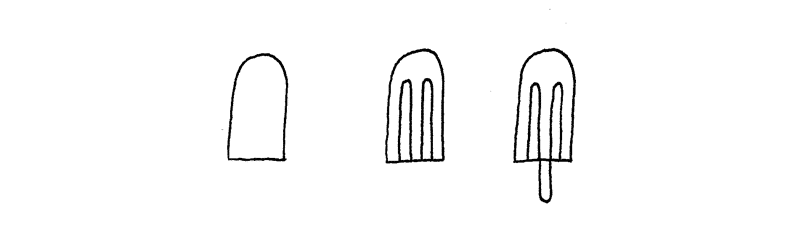 How to Doodle Popsicle