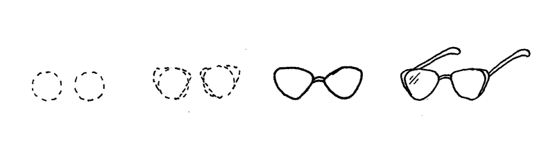 How to Doodle Sunglasses