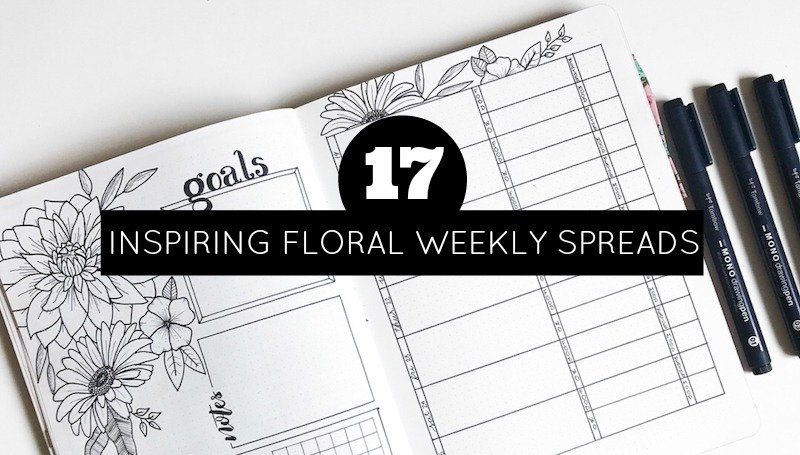 17 Inspiring Weekly Spreads