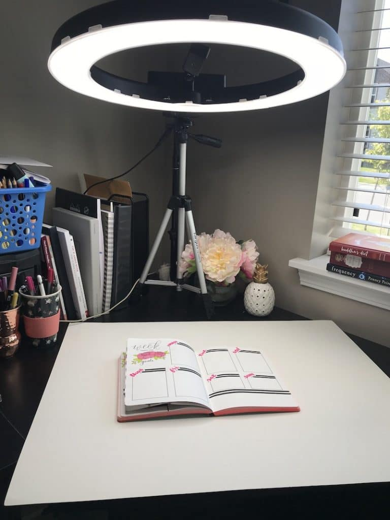 Using a Diva Light to take Perfect Flat Lay Photos for Instagram