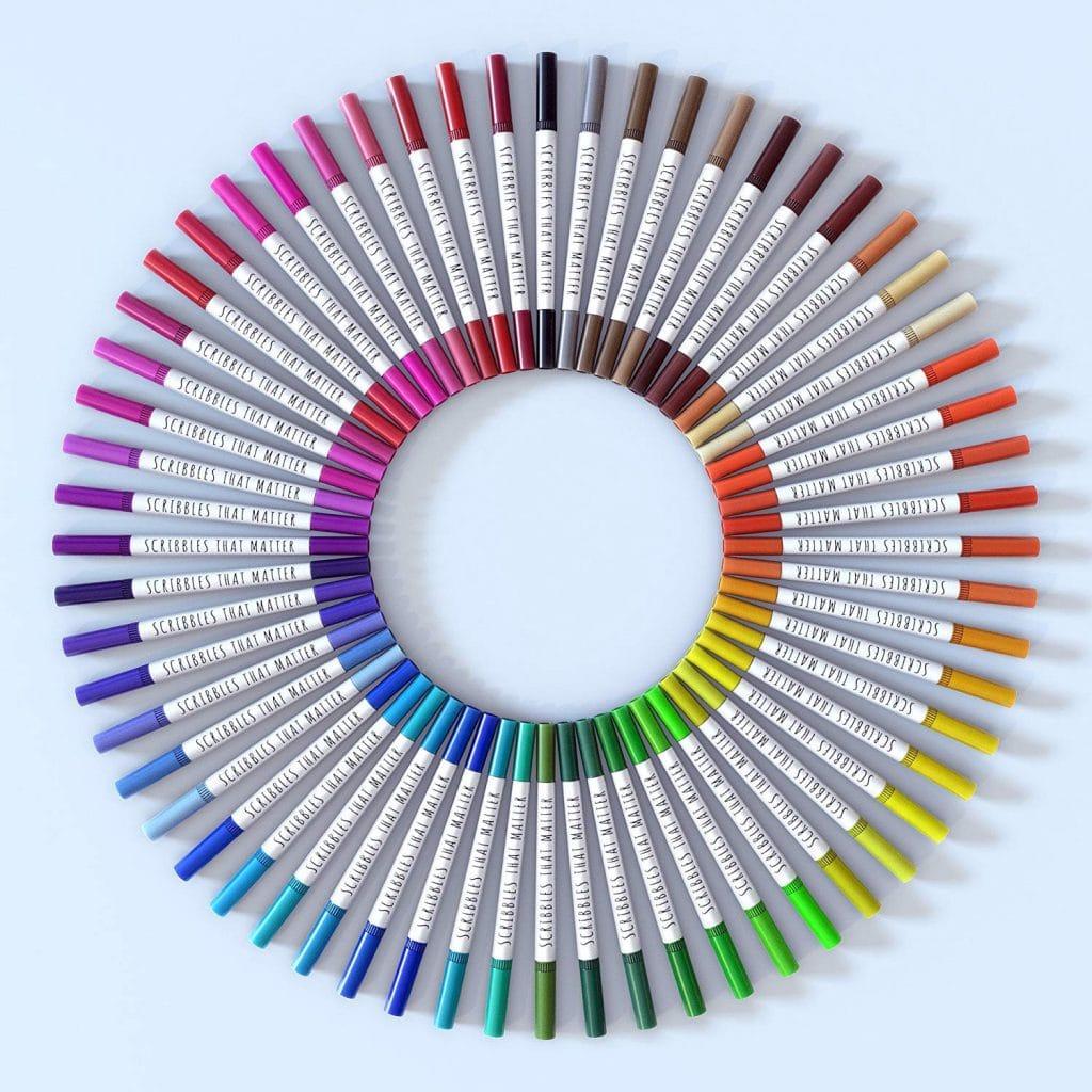 Scribbles that Matter Dual Tip Brush Pens