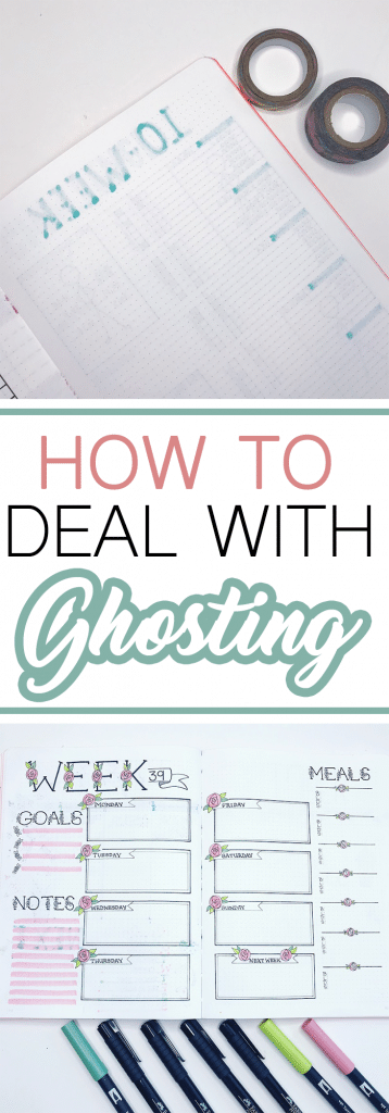 How to Deal With Ghosting in Your Bullet Journal