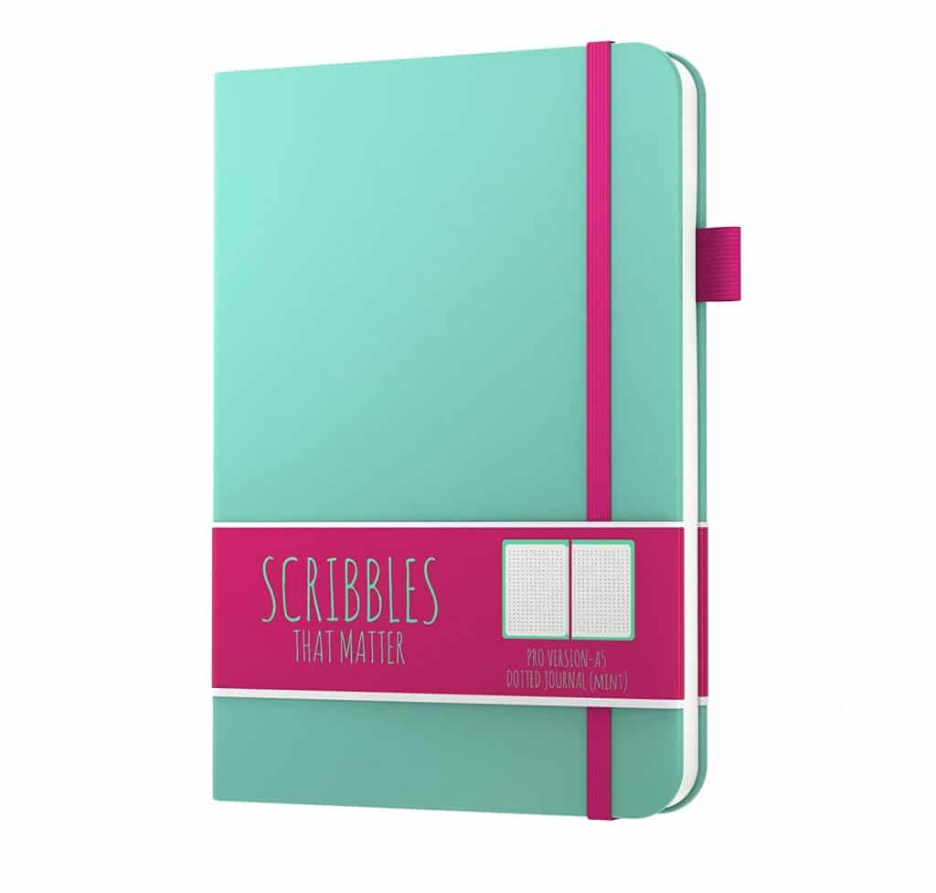 Scribbles that Matter Notebook for 2019: Featured in the Ultimate Bullet Journal Gift Guide for 2018