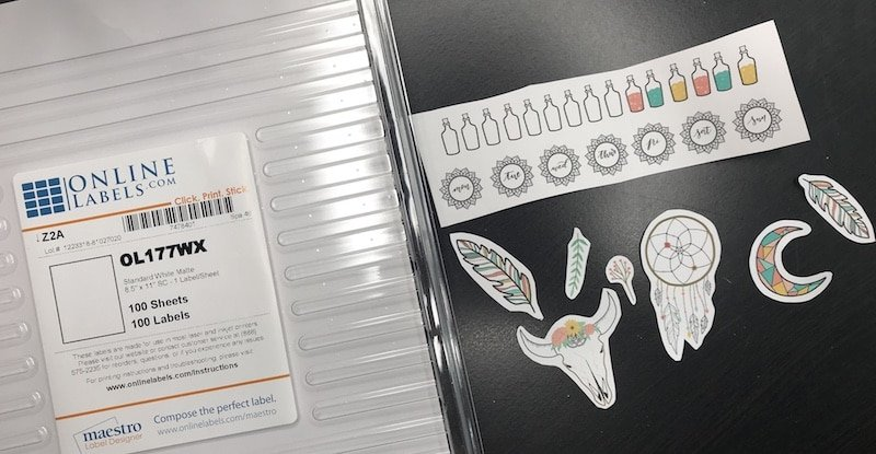 Make Your Own Printable Bullet Journal Stickers