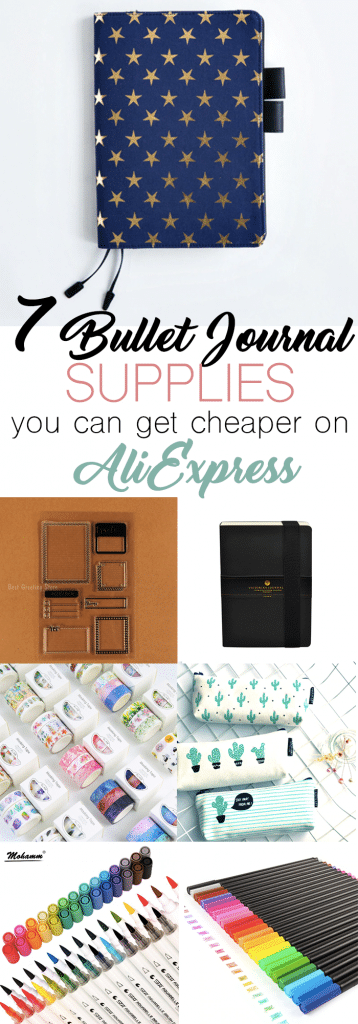 7 Bullet Journal Supplies to get on AliExpress