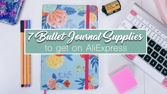 7 Bullet Journal Supplies to Snag from AliExpress