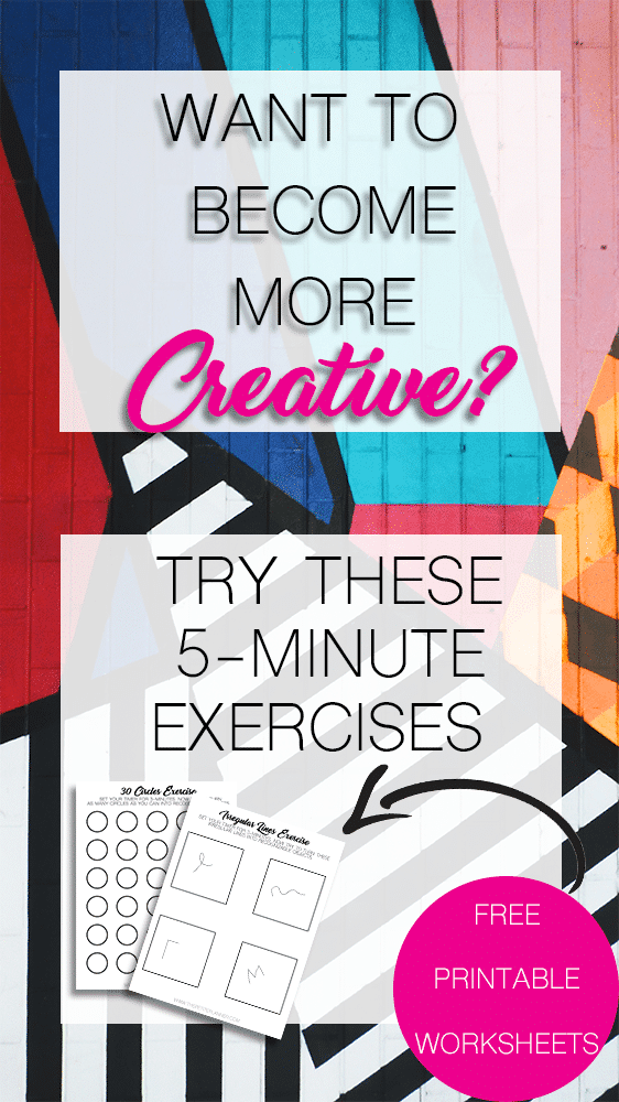 5-Minute Exercises to help you become more creative