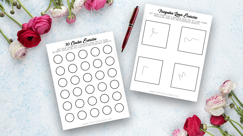 Free Printable Worksheets to Improve Creativity