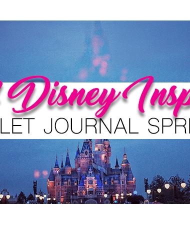 44 Disney Inspired Bullet Journal Spread Ideas