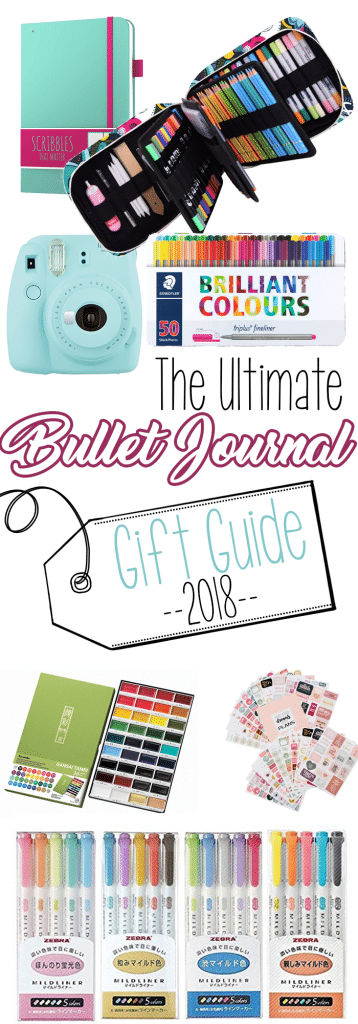 The Ultimate Bullet Journal Gift Guide of 2018!