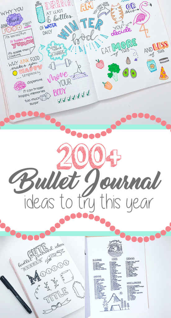 Bullet Journal Ideas You Will Want to Add To Your Bujo Right Now