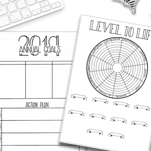 2019 Goals and Level 10 Life Printable Pack