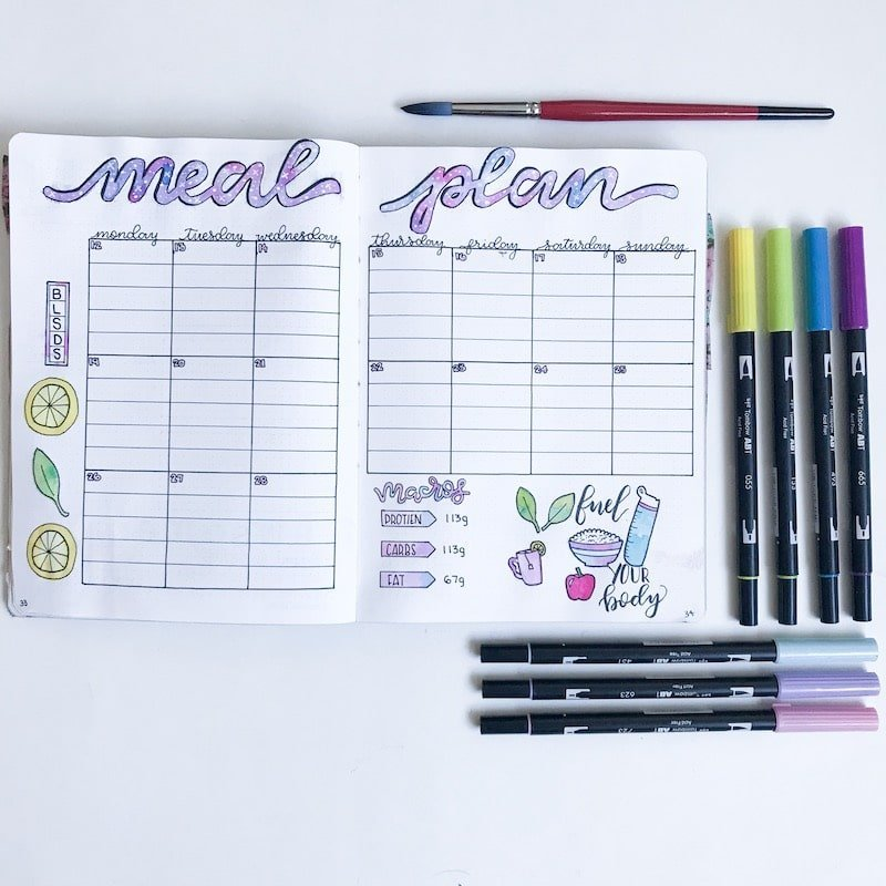 200+ Bullet Journal Ideas to Organize Your Life