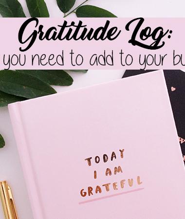 The Bullet Journal Gratitude Log Guide