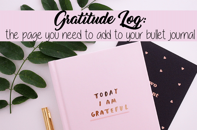 Bullet Journal Gratitude Log: Your Key to Happiness
