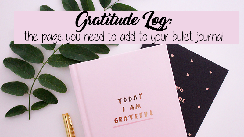 The Bullet Journal Gratitude Log Guide