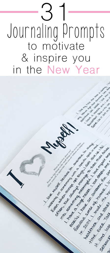 31 journaling prompts to motivate and inspire you in the new year