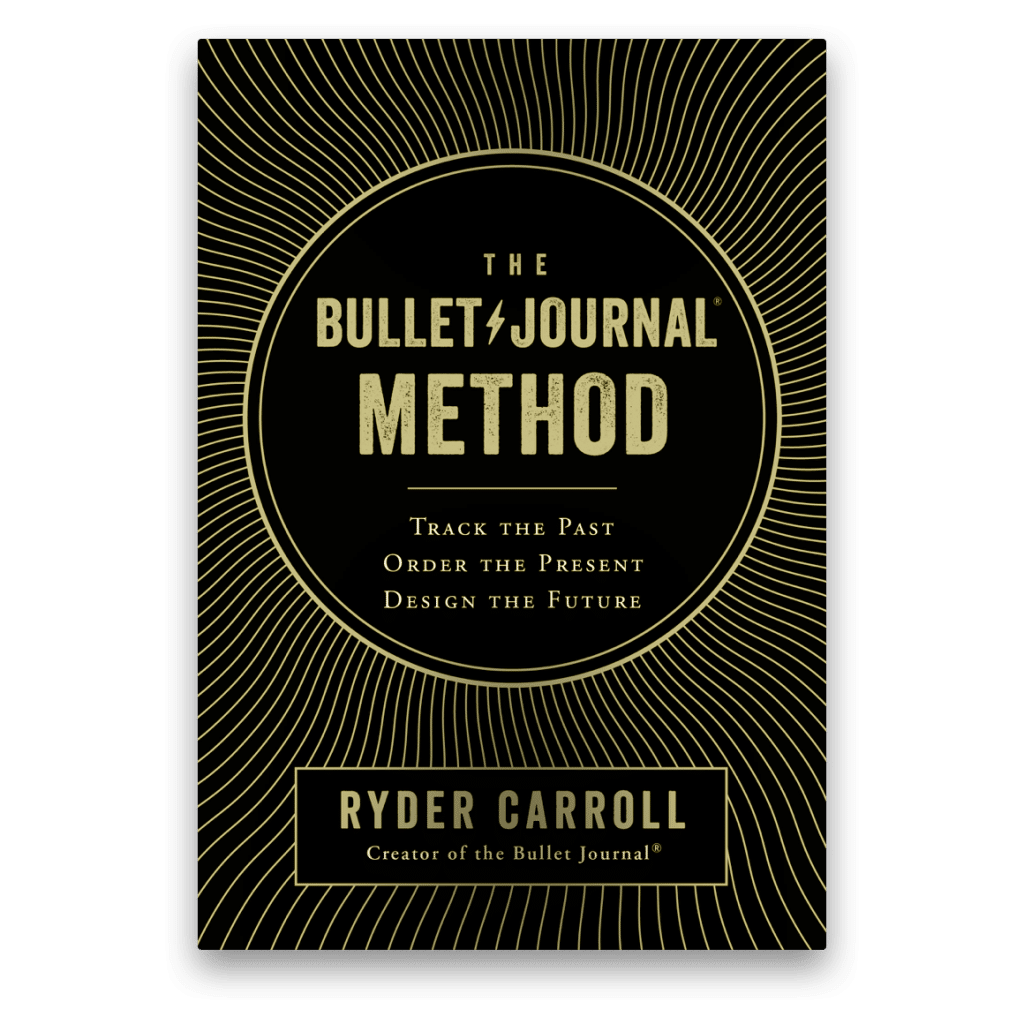 Grasping the basics of the bullet journal system with Ryder Carroll's book The Bullet Journal Method
