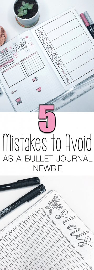 5 Bullet Journal Mistakes to Avoid When First Starting Out...and for the experienced journaler, too