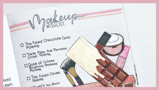 17 Inspiring Bullet Journal Wishlists to Try