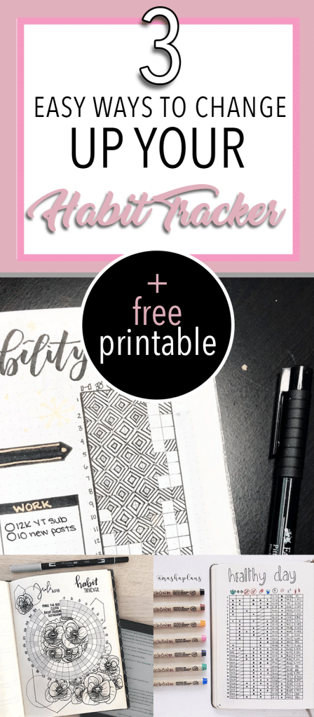 3 Easy Ways to Change Up Your Habit Tracker + Free Printable Mini Habit Tracker