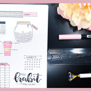 7 Cute Mini Habit Tracker Designs to Try In Your Bullet Journal