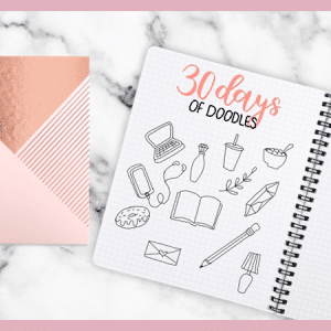 Learn to Doodle in 1 Month: 30 Days of Bullet Journal Doodles