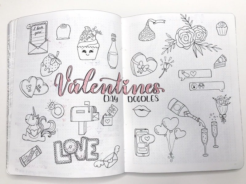 Learn how to create doodles for your bullet journal