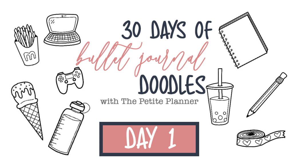 30 Days of Bullet Journal Doodles YouTube Series
