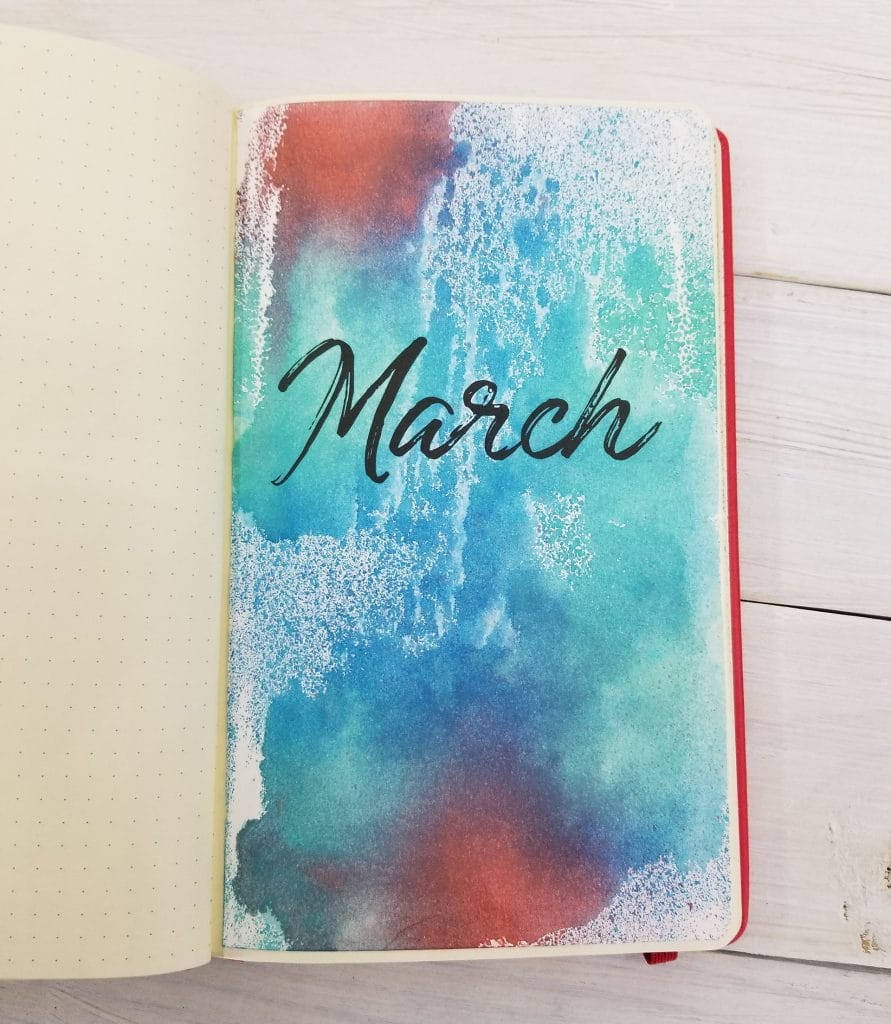 How to Use Distress Inks in Your Bullet Journal