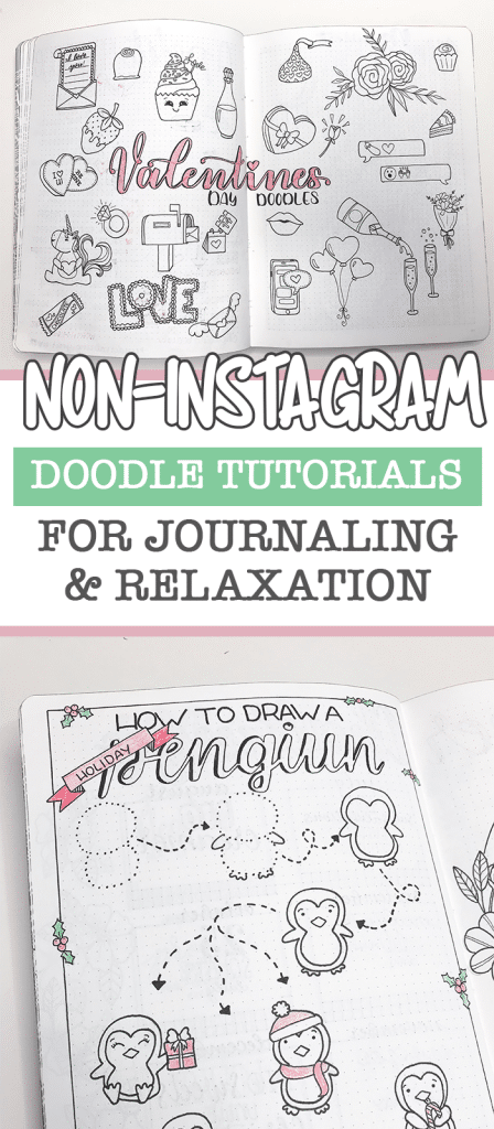 5 Free Resources to help you learn how to doodle. No Instagram Accounts included