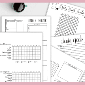 Free Mental Health Bullet Journal Printables