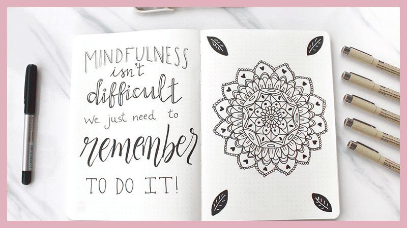 How Doodling Can Help With Mindfulness and Relaxation