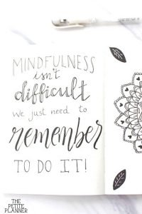 Quote about mindfulness