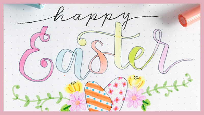 17 Easter Bullet Journal Ideas for April Themes