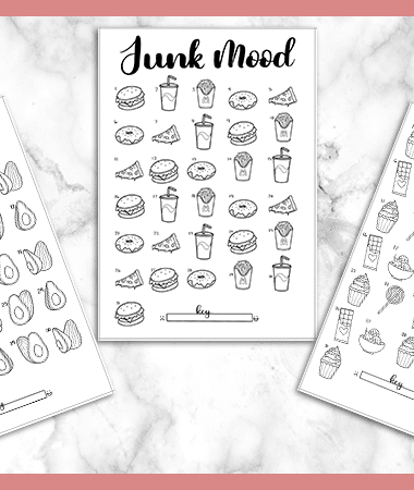3 Free Printable Mood Trackers