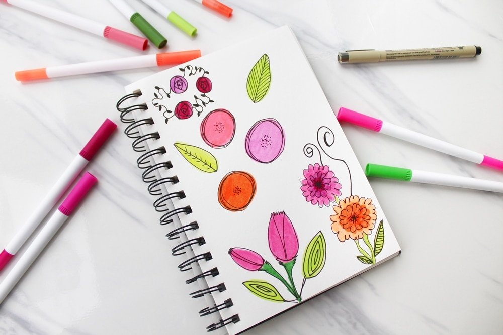 How to Start Doodling in Your Bullet Journal