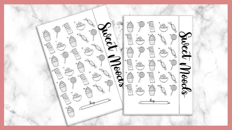 Free Mood Tracker Printables