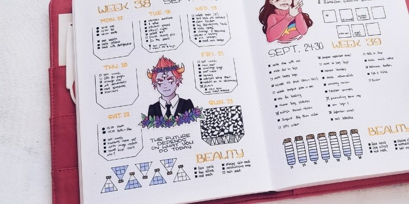 How to Use Empty Bullet Journal Pages