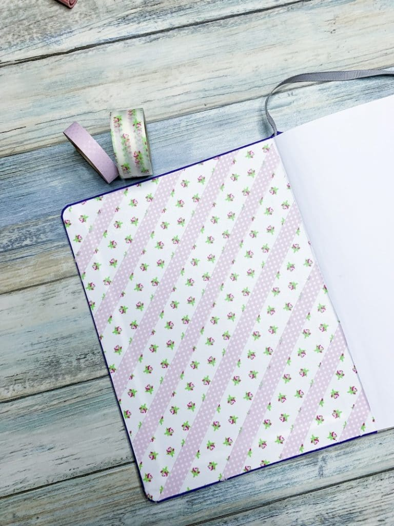 How to Easily Decorate your Bullet Journal: Washi Tape Ideas