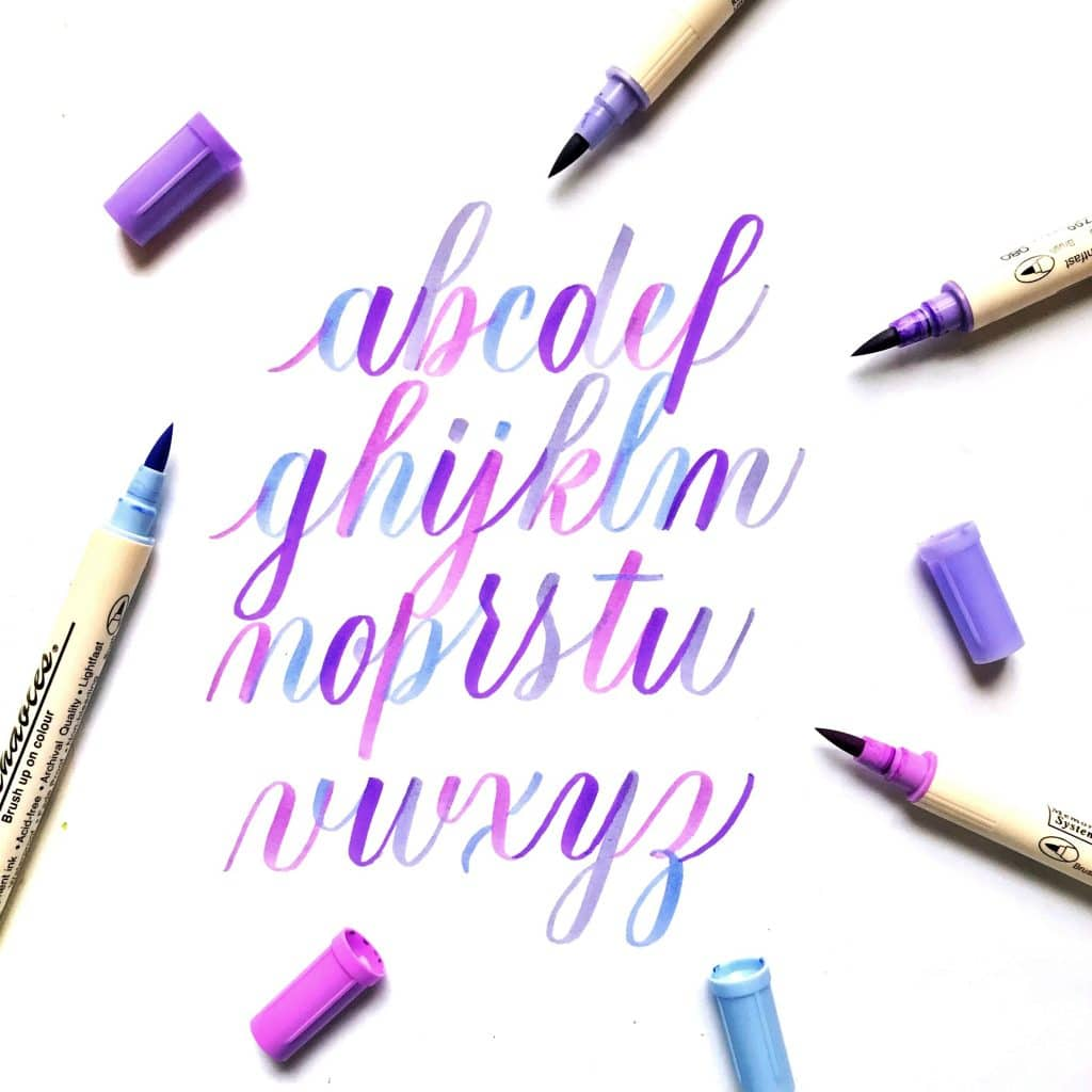 Learn Brush Lettering for Your Bullet Journal