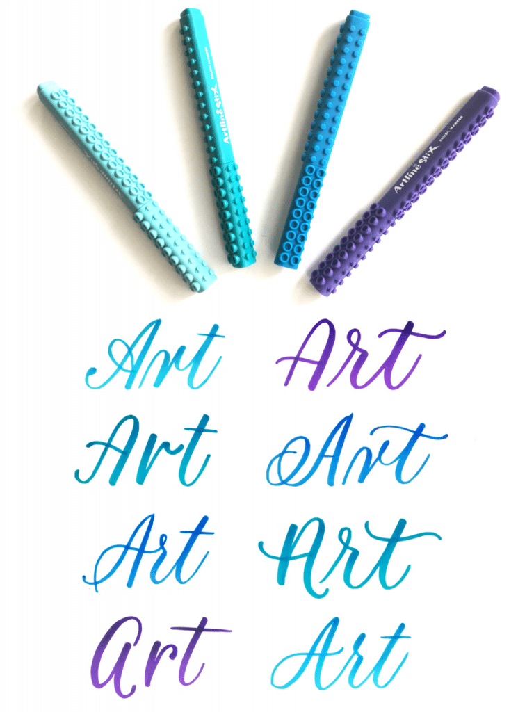 Learn how to stylize your brush lettering