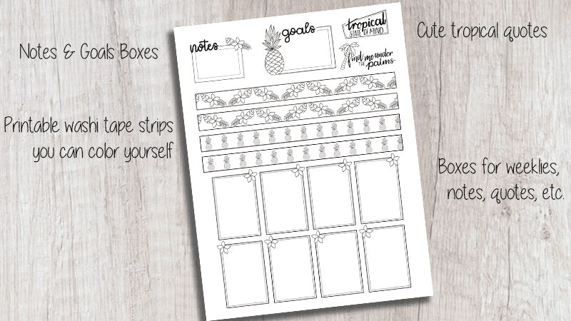 May 2019 Printable Bullet Journal Kit