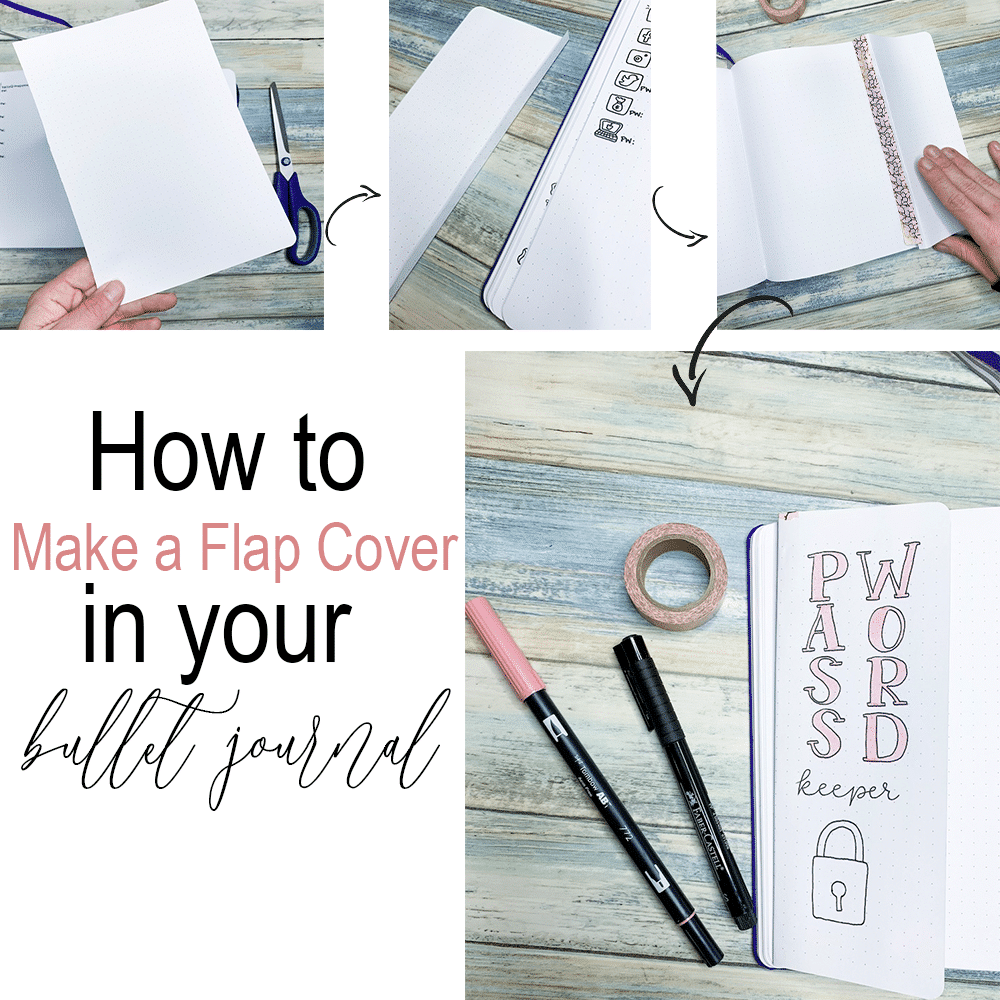 How to Make a Flap in Your Bullet Journal